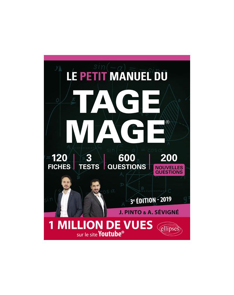 Le Petit Manuel du TAGE MAGE - édition 2019