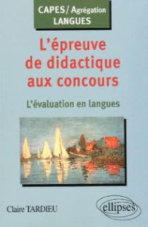 L'épreuve de didactique aux concours : l'évaluation en langues
