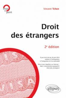 Droit des étrangers - 2e édition