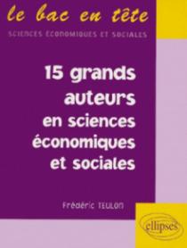 15 grands auteurs en économie