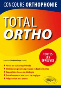 TOTAL Ortho, Tout pour réussir le concours d'orthophonie
