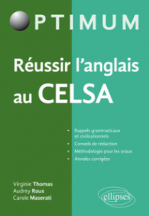 Réussir l'anglais au CELSA