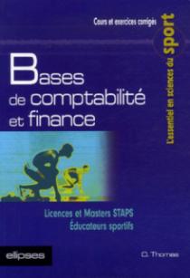 Bases de comptabilité et finance, Licences et Masters STAPS - Éducateurs sportifs