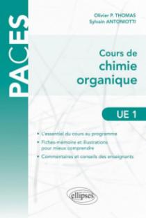 UE1 - Cours de chimie organique