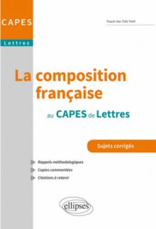 La Composition française au CAPES de lettres