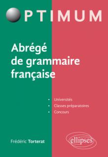 Abrégé de grammaire française