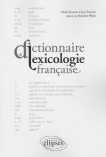 Dictionnaire de lexicologie française