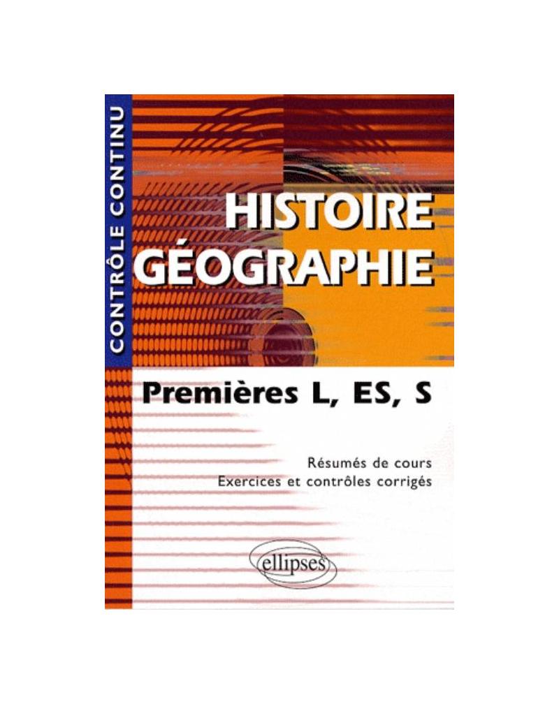 Histoire-Géographie - Premières L, ES et S