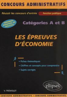Les épreuves d'économie - catégories A et B