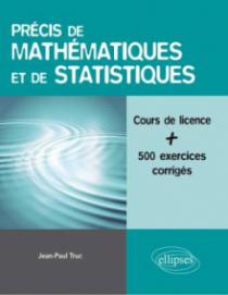 Précis de mathématiques et de statistiques - Licence sciences