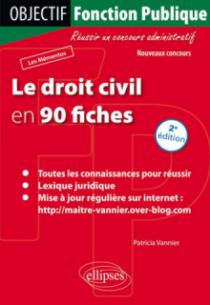 Le droit civil en 90 fiches - 2e édition