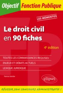 Le droit civil en 90 fiches - 4e édition