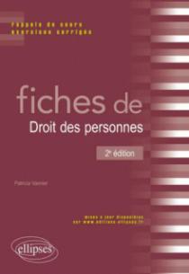 Fiches de Droit des personnes, 2e édition