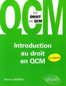 Introduction au droit en QCM. 3e édition