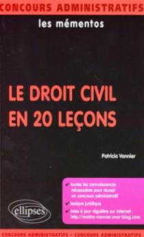 Le droit civil en 20 leçons