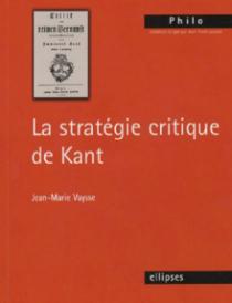 stratégie critique de Kant (La)