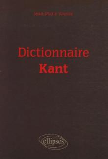 Dictionnaire Kant