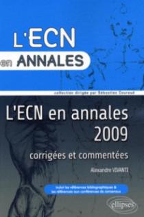 Annales 2009 de l'Examen Classant National