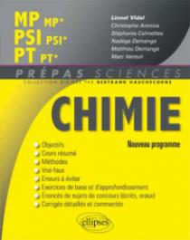 Chimie MP/MP* PSI/PSI* PT/PT* - nouveau programme 2014