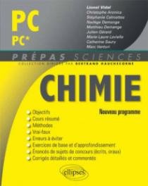 Chimie PC/PC* - nouveau programme 2014
