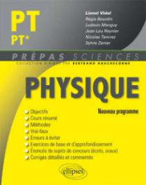 Physique PT/PT* - nouveau programme 2014