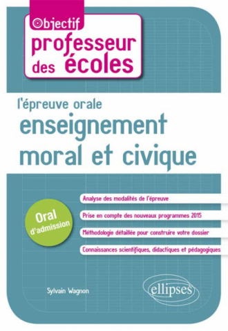 L'épreuve orale d'enseignement moral et civique