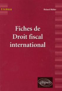 Fiches de droit fiscal international