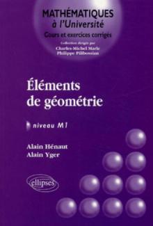 Eléments de géométrie - Niveau M1