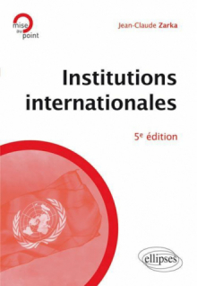 Institutions internationales - 5e édition