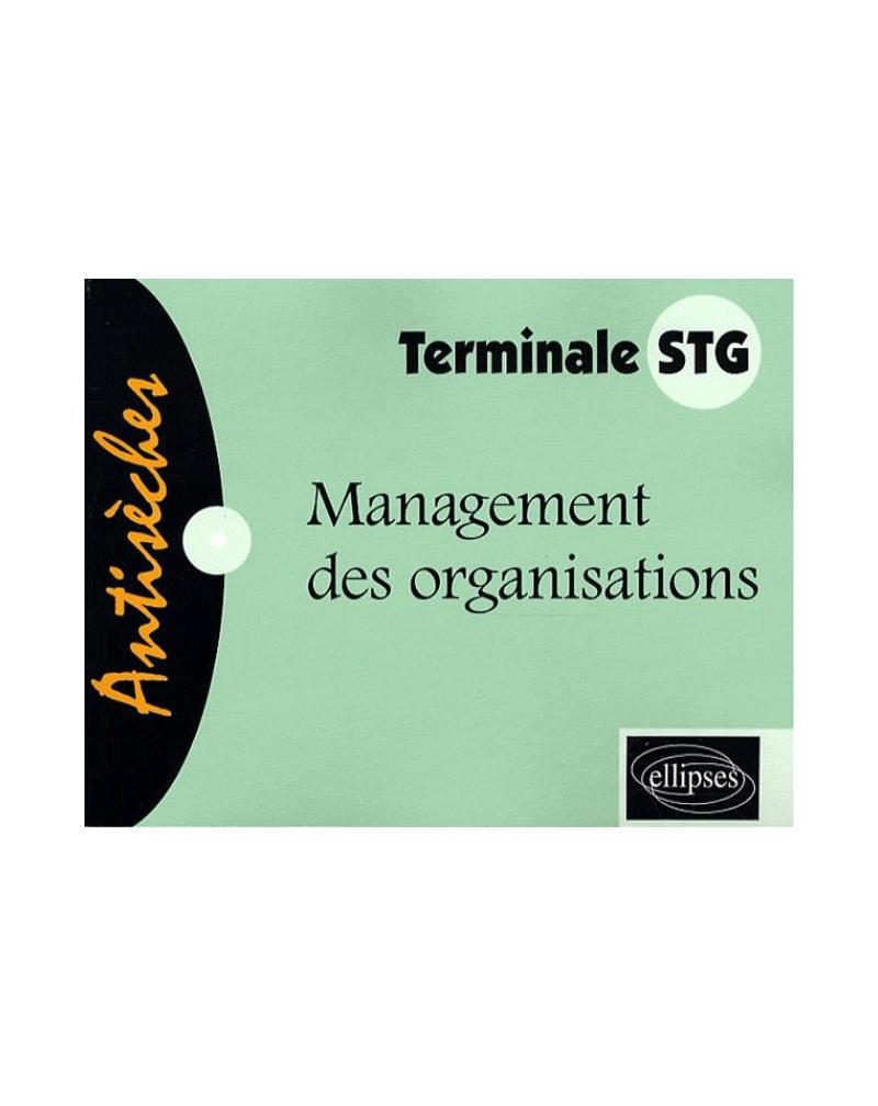 Management des organisations - Terminale STG