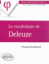 vocabulaire de Deleuze (Le)