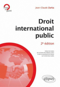 Droit international public - 2e édition