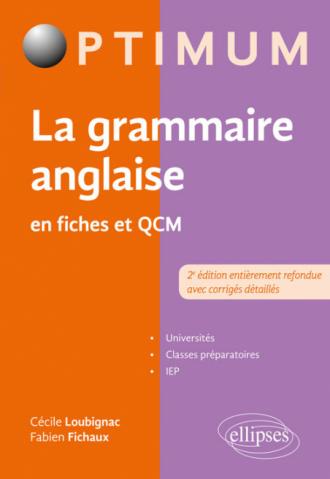 La grammaire anglaise en fiches et QCM - 2e édition