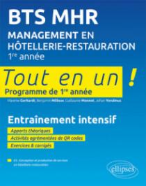 BTS MHR Management en Hôtellerie-Restauration 1re année