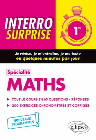 Spécialité Maths - Première - Nouveaux programmes