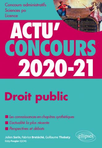 Droit public 2020-2021 - Cours et QCM