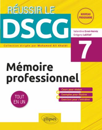 UE7 - Mémoire professionnel