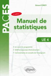 UE4 - Manuel de statistique - 4e édition