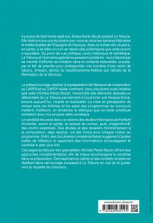 CAPES espagnol. Épreuve de composition 2020. Emilia PARDO BAZÁN, La Tribuna (1883)