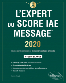 L'Expert du Score IAE Message - Édition 2020