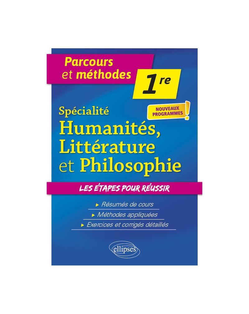Spécialité Humanités, Littérature et Philosophie - Première - nouveaux programmes