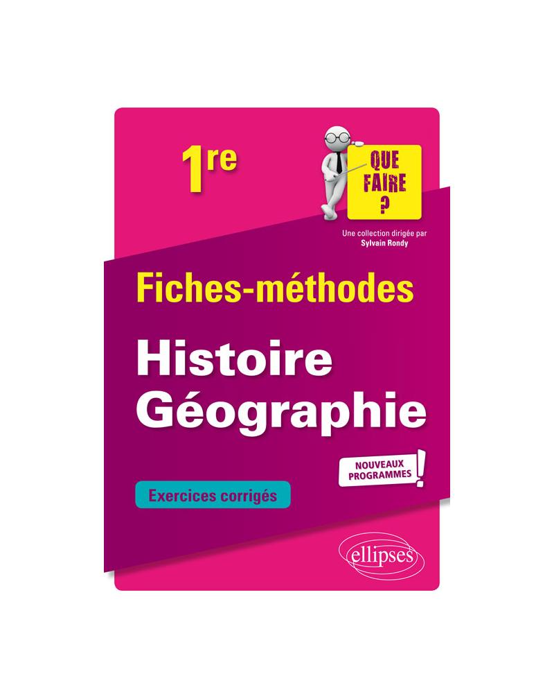 Histoire Géographie - Première - nouveaux programmes