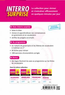 Espagnol - Première - nouveaux programmes