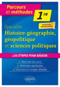 Spécialité Histoire-géographie, géopolitique et sciences politiques - Première - nouveaux programmes