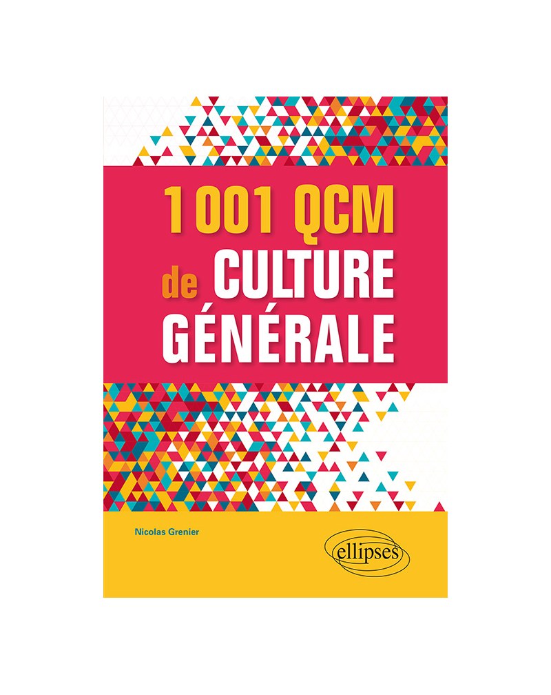 1001 QCM de culture générale