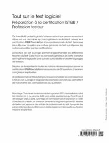 Tout sur le test logiciel - Préparation à la certification ISTQB / Profession testeur