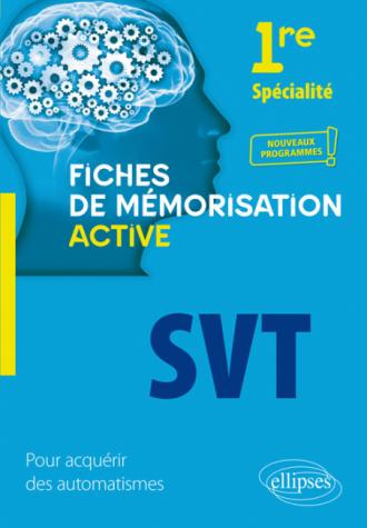 Spécialité SVT - Première - nouveaux programmes