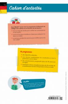 Allemand. Bereit ?  Cahier d'activités pour le collège. A1-A2 [cycle 4 (5e-4e-3e) et 6e bilangue