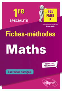 Spécialité Mathématiques - Première - Nouveaux programmes