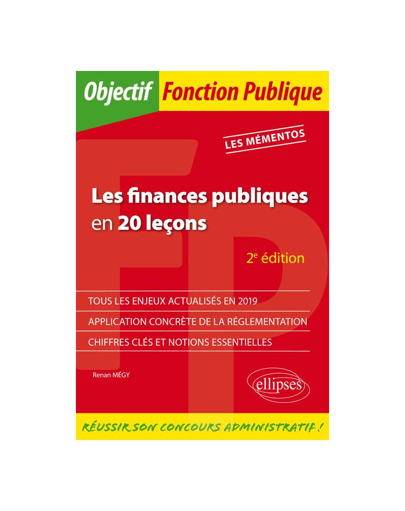 Les finances publiques en 20 leçons - 2e édition